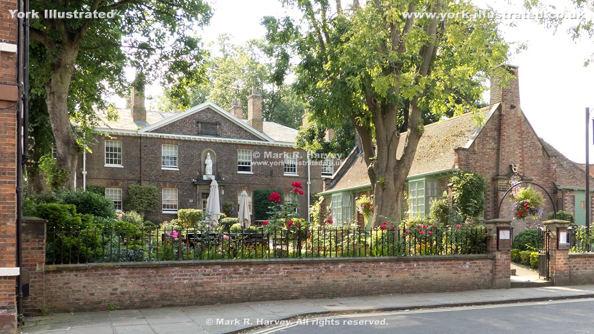 Photo: Anne Middleton's Hospital and the Terry Memorial Homes in Skeldergate, York (England).