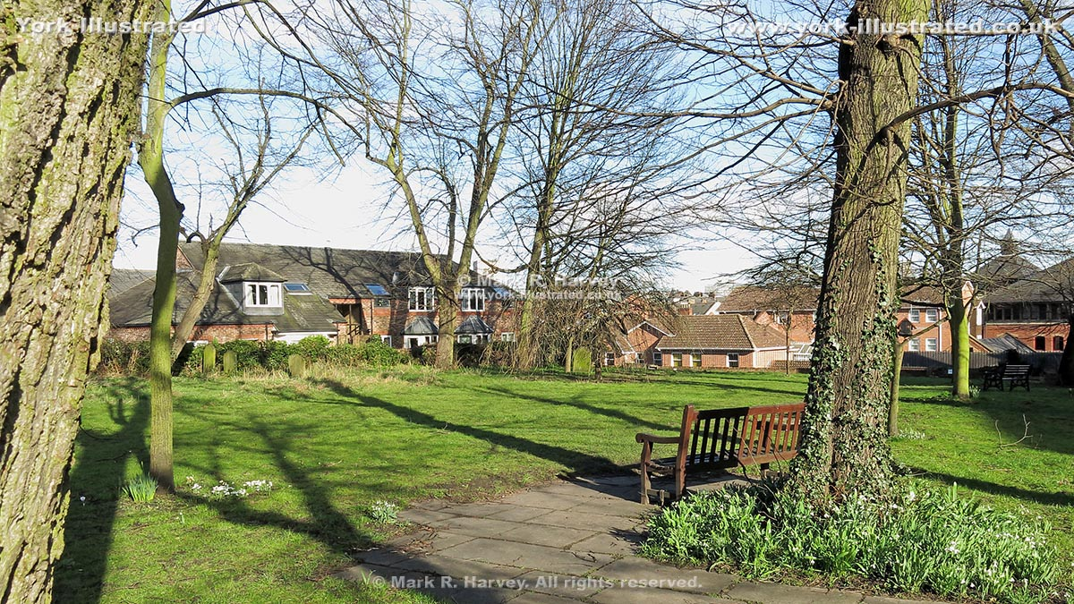 Photo: Bishophill Community Garden (York) in early spring.