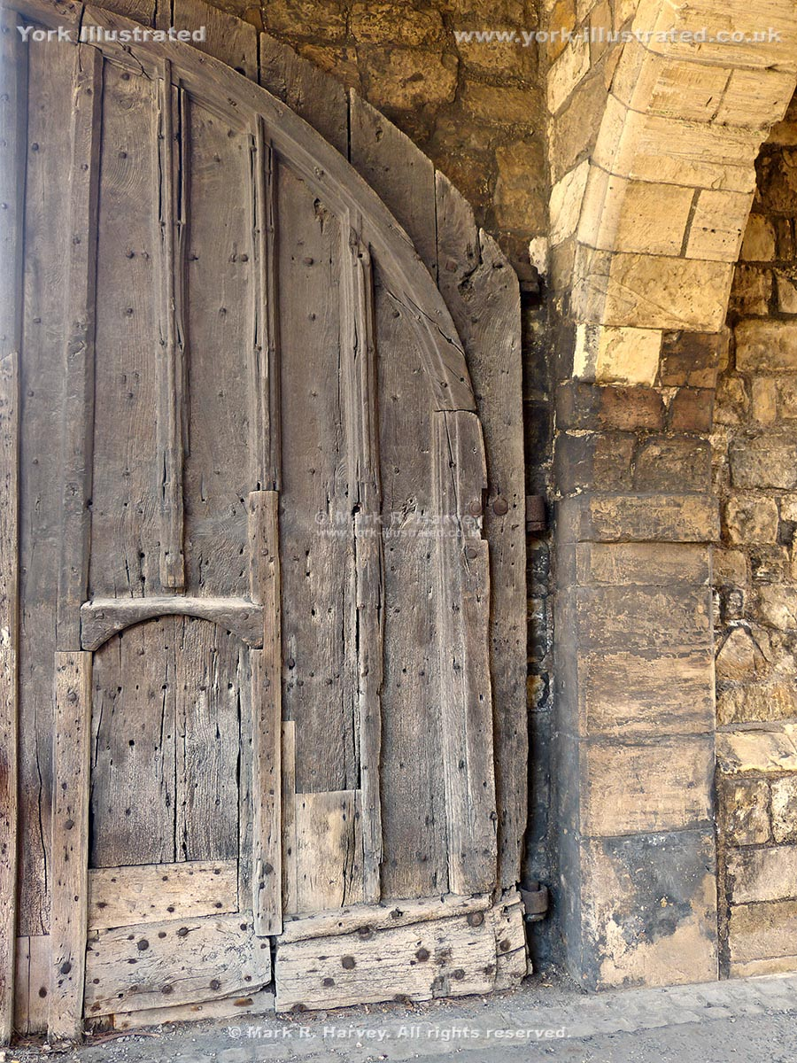 Decorating wicket door images : Walmgate Bar | York Illustrated